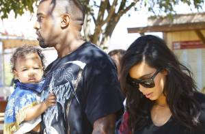 Kim Kardashian : Sexy avec Kanye, maman cool avec la stylée North