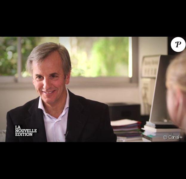 Bernard de La Villardière, interviewé dans La Nouvelle Edition, le vendredi 11 avril 2014.