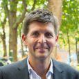 Thomas Sotto à la conférence de rentrée de Europe 1 à Paris. Le 3 septembre 2014 03/09/2014