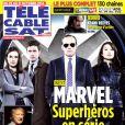 Magazine Télé Cable Sat, en kiosques le 20 octobre 2014.