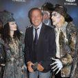 """Michel Leeb - Générale de la comédie musicale """"Le Bal des Vampires"""" au Théâtre Mogador à Paris, le 16 octobre 2014."""