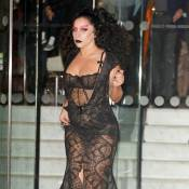Lady Gaga, gothique et en transparence : Morticia déjantée en plein Londres !