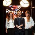 EXCLUSIF - Rising Star 2014. Larry et sa famille lors du Prime 5 de Rising Star diffusé sur M6, a la cité du Cinéma a Saint-Denis, France le 23 octobre 2014.