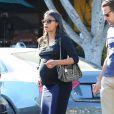 Zoe Saldana à West Hollywood, Los Angeles, le 19 octobre 2014.
