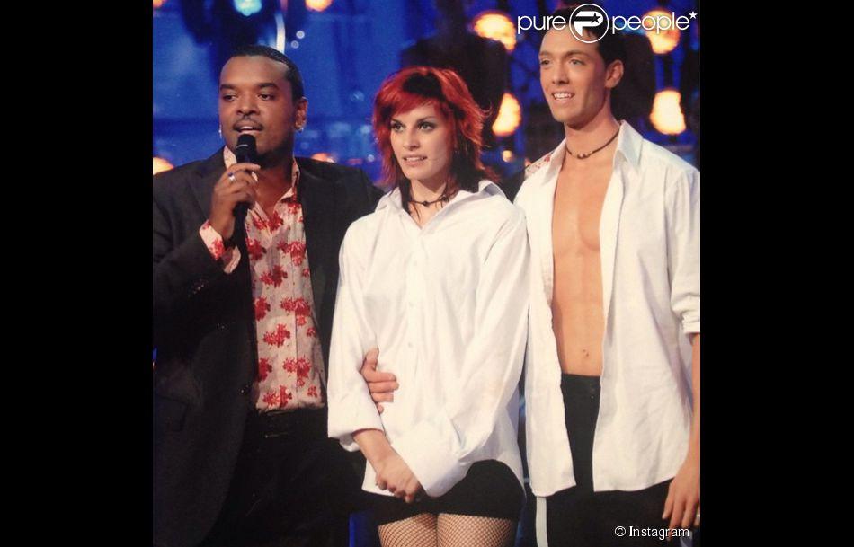 Fauve méconnaissable, il y a huit ans auprès de Maxime Dereymez et Anthony Kavanagh pour Dancing show sur France 2