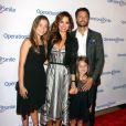"""Brooke Burke et David Charvet en famille lors du 30eme anniversaire du gala """"Operation Smile"""" à Beverly Hills, le 28 septembre 2012."""