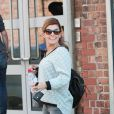 Exclusive - Coleen Rooney seen leaving the photo link photography studios in Manchester, UK on August 19, 2014, after her littlewoods shoot for her autumn - winter 14 colection carrying her personalised cr Louis Vuitton handbag. Photo by Xposure/ABACAPRESS.COM20/08/2014 - Manchester