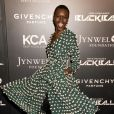 "Alek Wek lors de la soirée ""Keep A Child Alive Black Ball"" organisée au Hammerstein Ballroom de New York, le 30 octobre 2014."