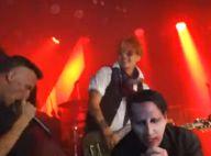 Johnny Depp, rockeur d'un soir, déchaîné pour son ami Marilyn Manson