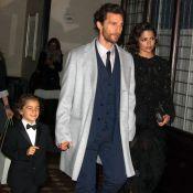Matthew McConaughey, papa-poule fatigué mais trop stylé avec son fils Livingston