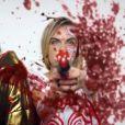 Ninja et Cara Delevingne dans le clip Ugly Boy, par Die Antwoord. (capture d'écran)