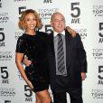 """Beyoncé et Sir Philip Green à la soirée """"Topshop Topman"""" à New York, le 4 novembre 2014"""