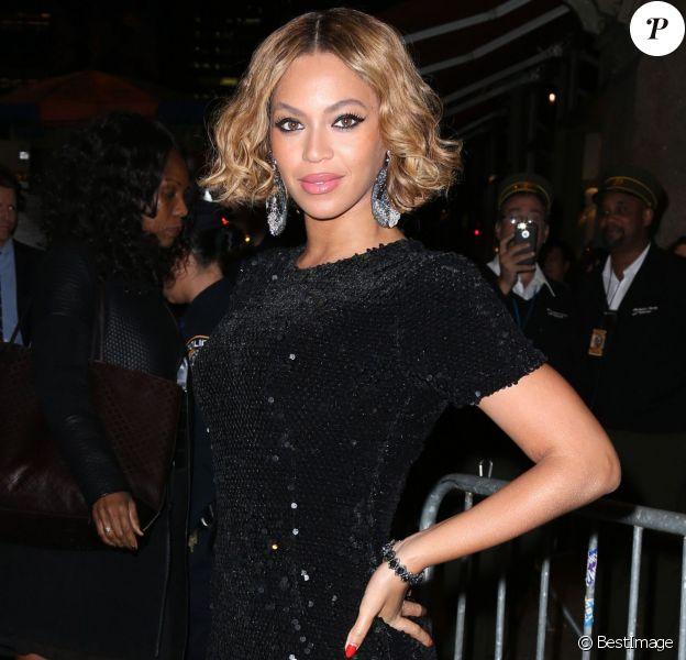 """Beyonce Knowles à la soirée """"Topshop Topman"""" à New York, le 4 novembre 2014"""
