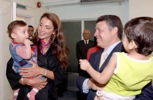 PHOTOS : La sublime Rania de Jordanie se met en quatre !