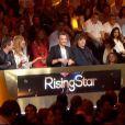 Le jury lors du septième prime time de Rising Star sur M6, le jeudi 6 novembre 2014.