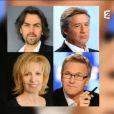 Laurent Ruquier présente On n'est pas couché sur France 2, le samedi 8 novembre 2014.