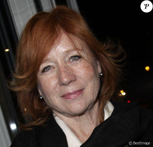 Eva Darlan à Paris le 11 decembre 2013.