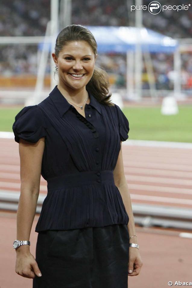 La princesse Victoria de Suède aux Jeux Paralympiques de Pékin
