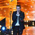 """Corentin Grevost, grand gagnant ! - Finale de """"Rising Star"""" sur M6. Jeudi 13 novembre 2014."""