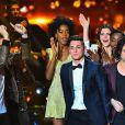 """Le jeune Corentin Grevost, grand gagnant ! - Finale de """"Rising Star"""" sur M6. Jeudi 13 novembre 2014."""