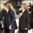 Le mariage de Jean Sarkozy : le marié et son frère Pierre