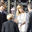 Le mariage de Jean Sarkozy : Laurent Solly, Isabelle Balkany (de dos) et son époux Patrick (à d.), Valérie Hortefeux