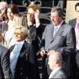 Le mariage de Jean Sarkozy : Patrick Balkany (au centre)
