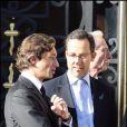 Le mariage de Jean Sarkozy : Laurent Solly et Arnaud Teulle