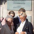 Le mariage de Jean Sarkozy : la mamie du marié Andrée Sarkozy et Isabelle Balkany