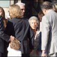 Le mariage de Jean Sarkozy : François (de dos) et Pierre (de dos) Sarkozy, Andrée Sarkozy
