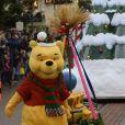 Disneyland Paris lance les festivités de Noël le 9 novembre 2014.