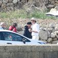 Exclusif - Angelina Jolie et Brad Pitt tournent By The Sea à Malte le 9 novembre 2014.