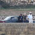 Exclusif - Angelina Jolie et Brad Pitt s'activent sur le tournage de By The Sea à Malte le 9 novembre 2014.