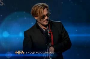 Johnny Depp ivre aux Hollywood Awards : Sa prestation dérange et choque...