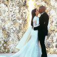 Kanye West et Kim Kardashian se sont dit oui en juin 2014 à l'occasion d'une cérémonie grandiose à Florence en Italie.