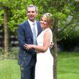 Katie Couric et John Molner se sont mariés au Topping Rose Garden à New York, le 21 juin 2014.