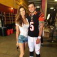 Katherine Webb, Miss Alabama 2012, et AJ McCarron, nouveau quarterback des Cincinnati Bengals, se sont mariés le 12 juillet 2014 à Orange Beach.