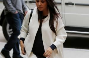 Kourtney Kardashian, enceinte : Anniversaire, baby shower et déjeuner en famille