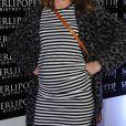 """Sophie Ferjani enceinte - Inauguration du restaurant """"Saperlipopette!"""" de Norbert Tarayre (Top Chef 3) à Puteaux, le 17 novembre 2014"""