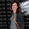 """Sophie Fejrani enceinte - Inauguration du restaurant """"Saperlipopette!"""" de Norbert Tarayre (Top Chef 3) à Puteaux, le 17 novembre 2014"""