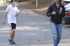 Calista Flockhart : Jeune quinqua et déjà dépassée par son fils Liam, 13 ans