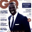 Omar Sy en couverture de GQ magazine (décembre 2014), élu homme de l'année