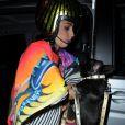 """Lady Gaga quitte les studios """"Sunshine Dance"""" à Manchester, le 19 novembre 2014."""