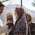 """ Image du film Exodus : Gods and Kings avec Christian Bale et Maria Valverde """