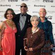 Jonelle Procope, Bill Cosby, Ruby Dee et Camille Cosby à New York, le 8 juin 2009.