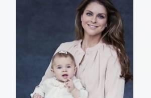 Princesse Leonore, 9 mois : A croquer pour Thanksgiving, avec sa maman Madeleine