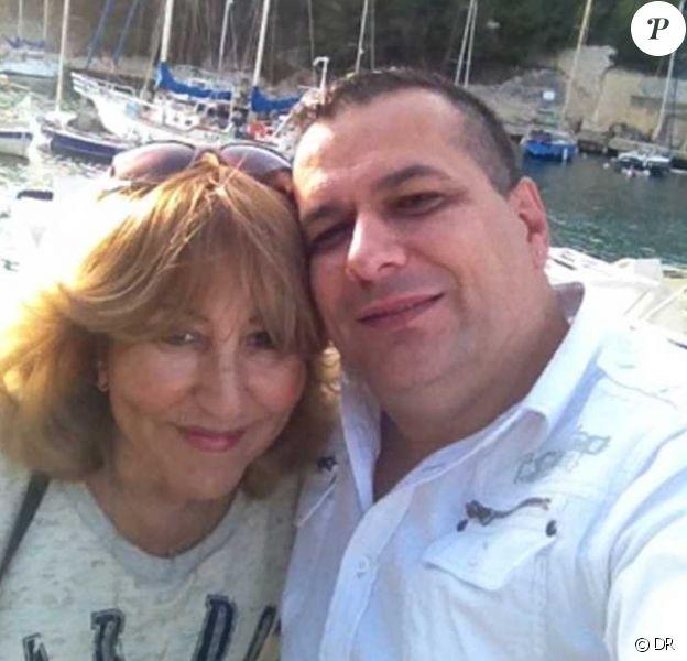 """Marie-Paule de """"L'amour est dans le pré 2014"""" et son ex-compagnon Jean-Manuel. Octobre 2014."""