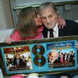 Exclusif - Jean-Jacques Debout et sa femme Chantal Goya - Jean-Jacques Debout reçoit 2 Disques d'Or chez Sony à Paris le 19 juin 2014.