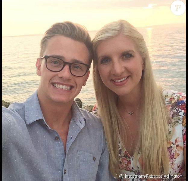 Rebecca Adlington et son époux Harry Needs, photo publiée sur son compte Instagram le 8 septembre 2014