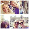Rebecca Adlington et son époux Harry Needs, photo publiée sur son compte Instagram le 12 septembre 2014